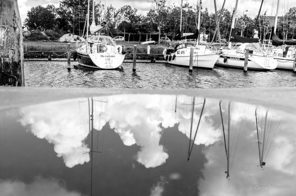 Cloudy ship