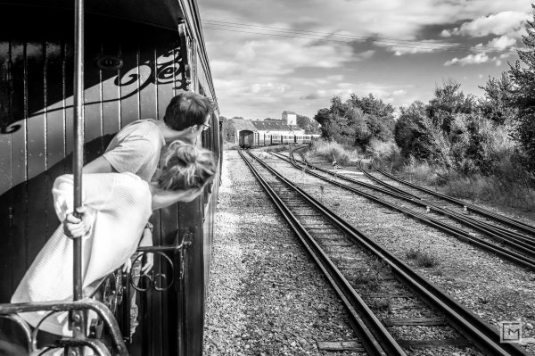Nostalgic train ride
